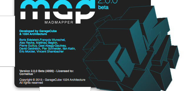 Madmapper 2.0 Beta