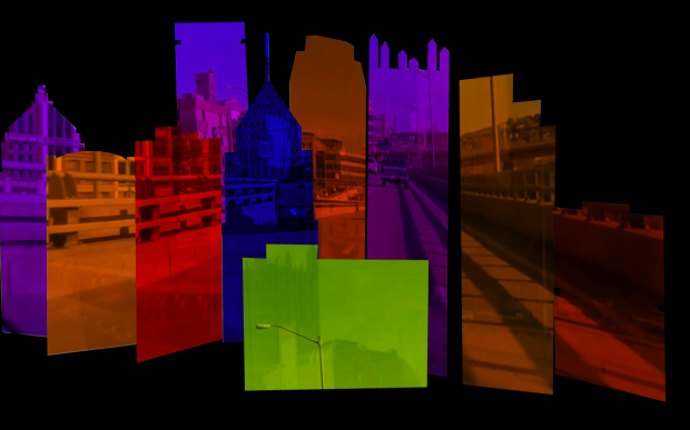 Madmapper Pittsburgh Skyline 2