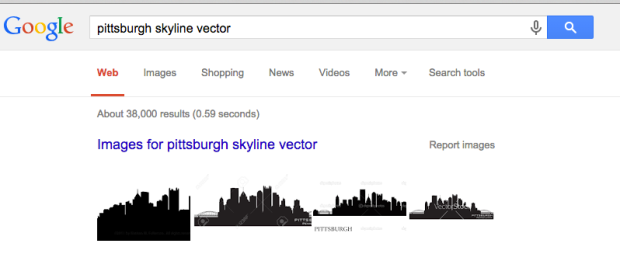 Pittsburgh Skyline Vector Search