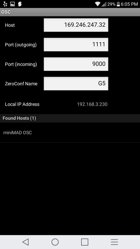 miniMAD wifi